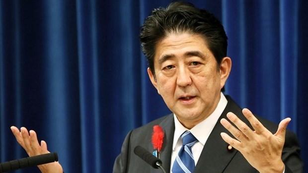 Le PM japonais adresse ses condoleances a la famille de la fillette Le Thi Nhat Linh hinh anh 1