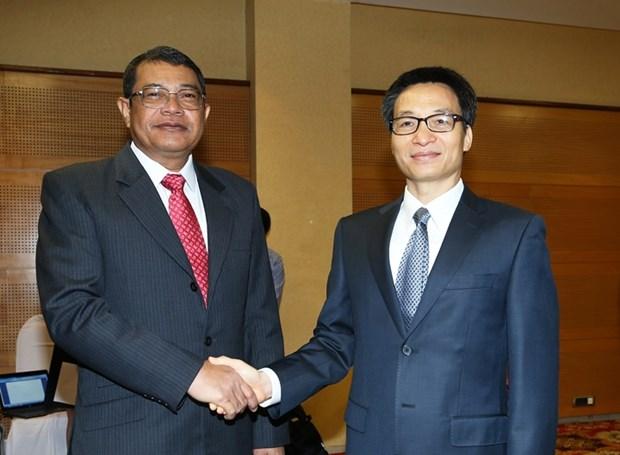 Vietnam et Cambodge plus que jamais unis contre la drogue hinh anh 1