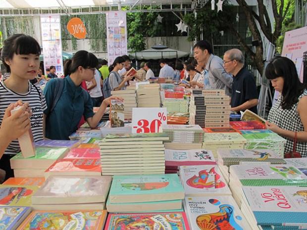 Journee des livres a la bibliotheque nationale du Vietnam hinh anh 1