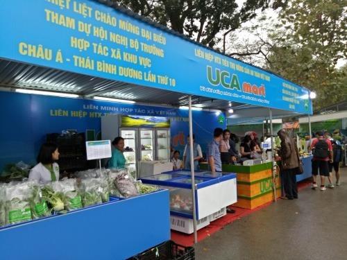 Premiere foire des produits agricoles et artisanaux des cooperatives vietnamiennes hinh anh 1