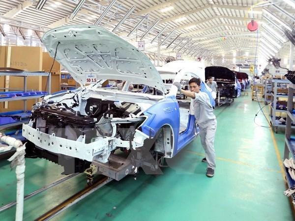 Automobile : cooperation vietnamo-chinoise dans la production de pieces detachees hinh anh 1