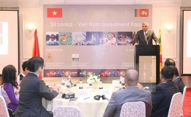 Promotion des relations de cooperation et d'investissement Vietnam-Sri Lanka hinh anh 1
