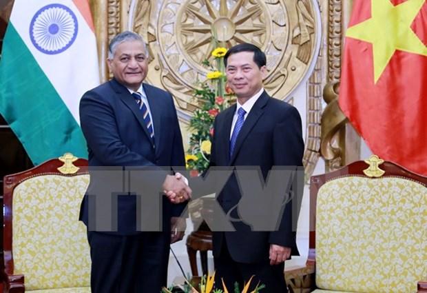 Vietnam et Inde renforcent leur relations de cooperation dans divers domaines hinh anh 1