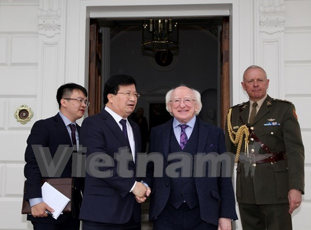 Le vice-PM Trinh Dinh Dung suggere a l'Irlande d'encourager l'UE a signer l'ALE avec le Vietnam hinh anh 1