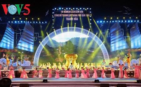 Sam Son celebre les 110 ans de developpement de son tourisme hinh anh 1