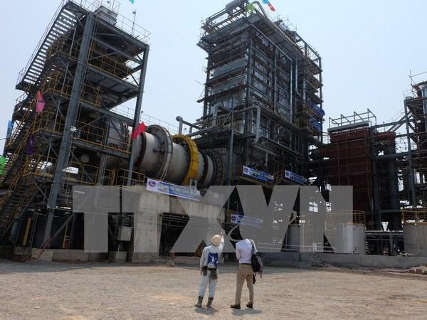 Inauguration de la 1ere usine de transformation de dechets industriels en energie au Vietnam hinh anh 1
