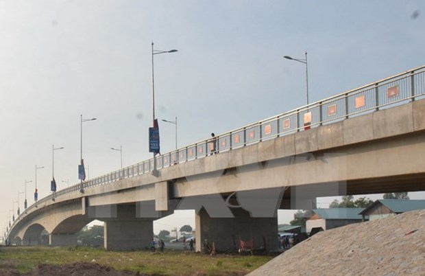 Vietnam-Cambodge: Inauguration du pont Long Binh-Chrey Thom reliant An Giang a Kandal hinh anh 1