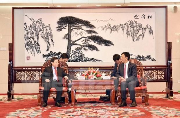 Vietnam et Chine renforcent leur cooperation entre parquets populaires hinh anh 1