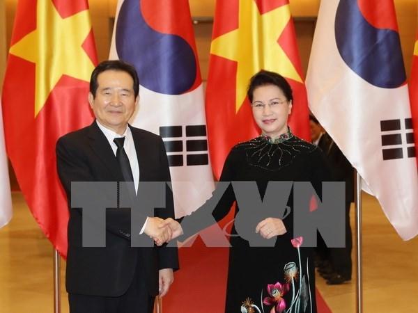 Le Vietnam et la Republique de Coree renforcent leurs relations hinh anh 1