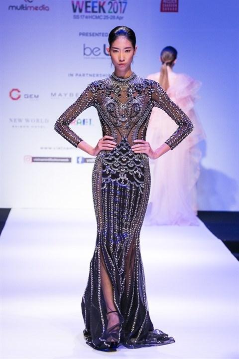 La Semaine de la mode internationale 2017 s'ouvre a Ho Chi Minh-Ville hinh anh 1