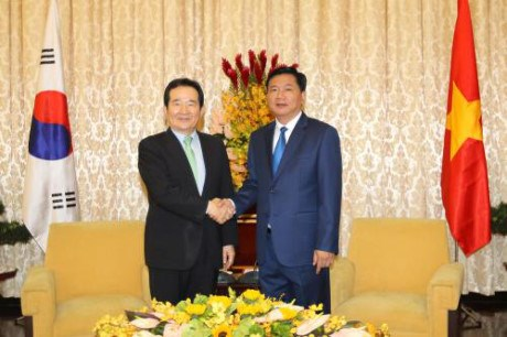 Ho Chi Minh-Ville accueille le president de l'AN de la R. de Coree hinh anh 1
