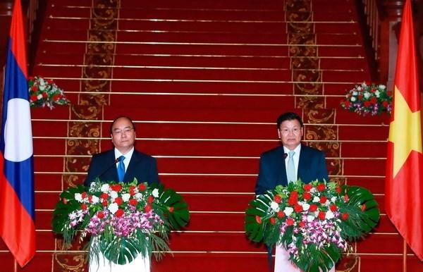 Declaration commune Vietnam-Laos hinh anh 1