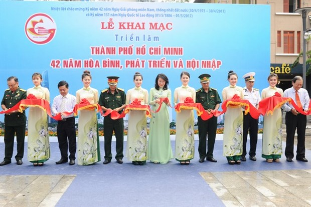 Ho Chi Minh-Ville : 42 ans de developpement et d'integration en images hinh anh 1