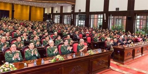 Celebration du 100eme anniversaire du general Van Tien Dung hinh anh 1