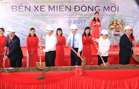 Ho Chi Minh-Ville : mise en chantier d'une nouvelle gare routiere de l'Est hinh anh 1