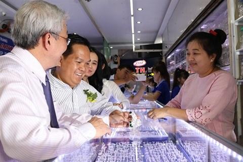 Ho Chi Minh-Ville inaugure son quartier de la joaillerie hinh anh 2