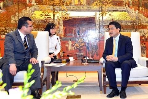 Hanoi et la ville japonaise de Saijo renforcent leur cooperation hinh anh 1