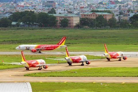 Vietjet Air inaugure une ligne Hanoi-Singapour hinh anh 1