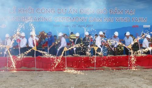 Mise en chantier de la centrale eolienne Dam Nai hinh anh 1