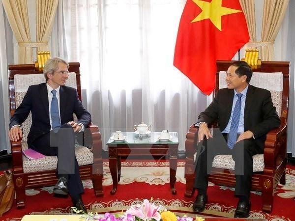 Promouvoir les relations entre le Vietnam et la France hinh anh 1