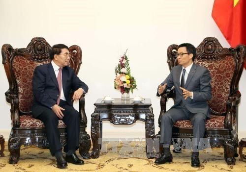 Intensifier les relations entre les academies des sciences du Vietnam et de la Chine hinh anh 1