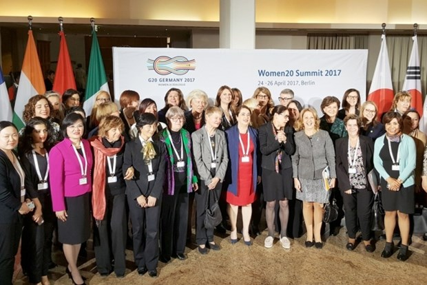 Le Vietnam au Sommet du G20 des femmes en Allemagne hinh anh 1