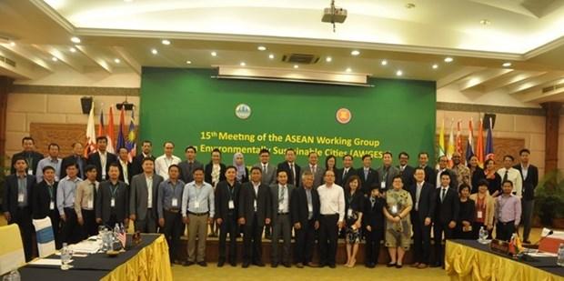 Le Vietnam a la 15eme reunion du Groupe de travail de l'ASEAN sur les villes durables hinh anh 1