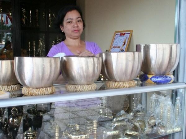Le 7e festival des metiers traditionnels de Hue debute hinh anh 1