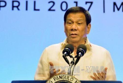 Le chef de l'Etat philippin rend publique une declaration de la presidence de l'ASEAN hinh anh 1