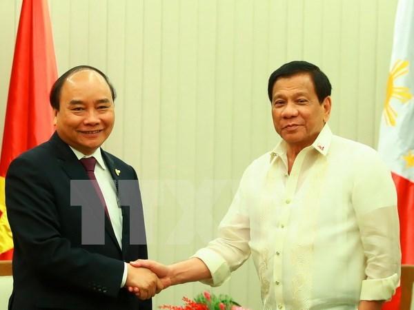 Les Philippines prennent en haute consideration leur amitie avec le Vietnam hinh anh 1
