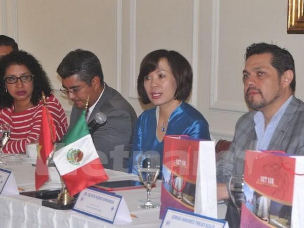 Des intellectuels mexicains admirent les realisations socioeconomiques du Vietnam hinh anh 1