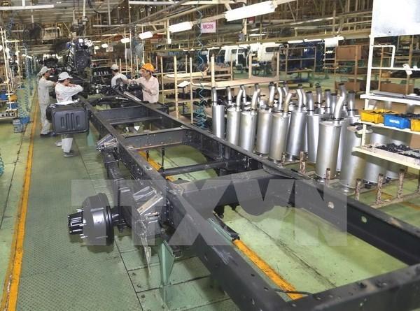 La production industrielle augmente de 7,4% en avril hinh anh 1