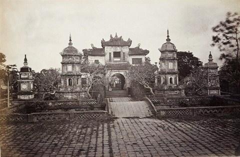 Les ruines de l'ancienne tour Hoa Phong a Hanoi hinh anh 1