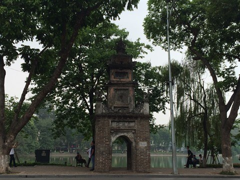 Les ruines de l'ancienne tour Hoa Phong a Hanoi hinh anh 3