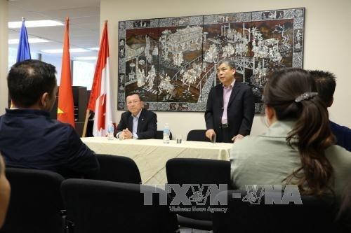 L'ambassade du Vietnam au Canada accorde une grande attention aux Viet kieu hinh anh 1