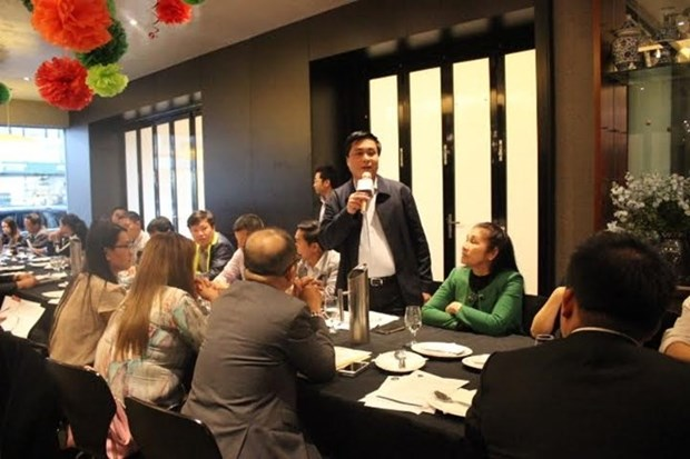 Les entreprises de la province de Hoa Binh sonde des opportunites d'affaires a Melbourne hinh anh 1