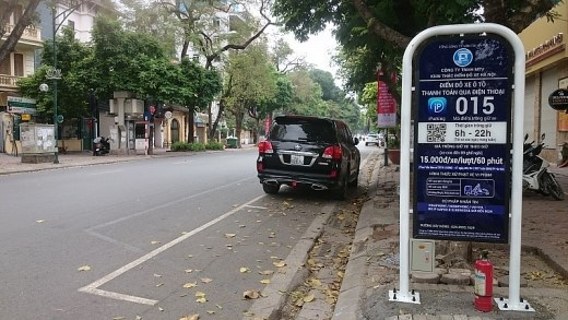 Hanoi propose iParking hinh anh 1