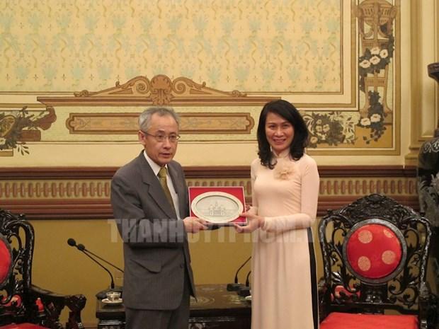 Ho Chi Minh-Ville : cooperation dans la formation de stagiaires au Japon hinh anh 1