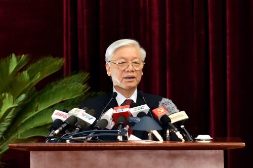 Le 5e Plenum du CC du PCV (12e mandat) examine plusieurs questions d'importance nationale hinh anh 1