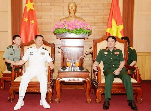 Dynamiser la cooperation entre les marines vietnamienne et chinoise hinh anh 1