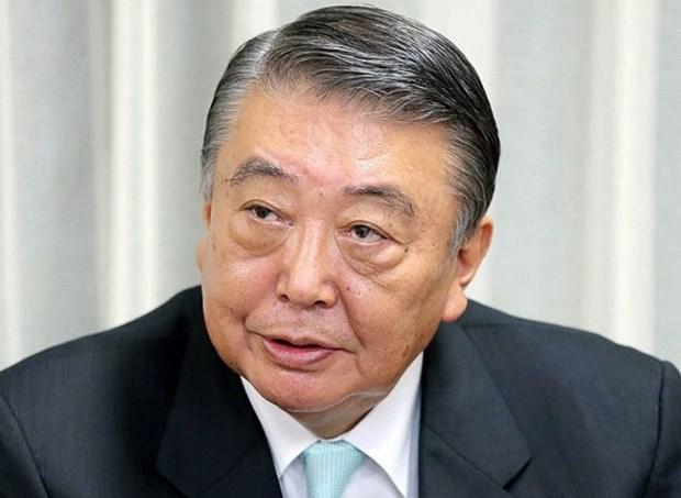 Le president de la Chambre des representants japonais termine sa visite au Vietnam hinh anh 1