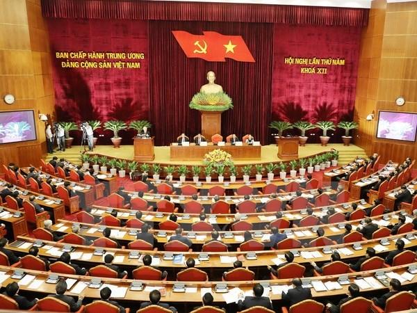 Deuxieme journee du 5e plenum du Comite central du PCV hinh anh 1