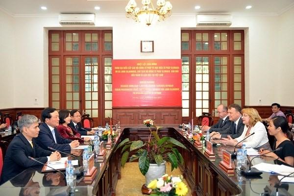 Vietnam - Slovaquie : renforcer la cooperation dans la justice hinh anh 1