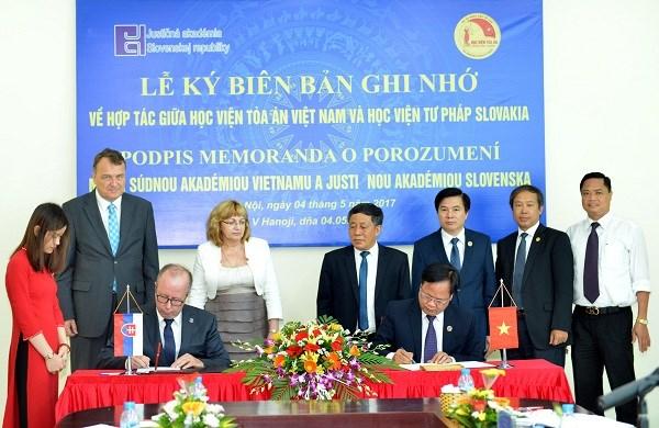 Vietnam - Slovaquie : renforcer la cooperation dans la justice hinh anh 2