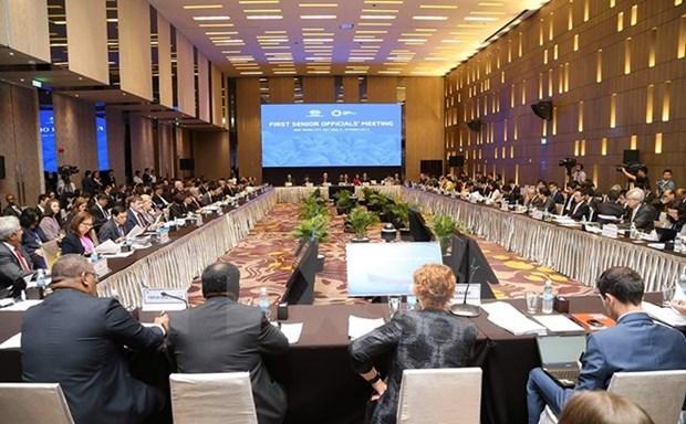 APEC: Ouverture a Hanoi de la SOM2 et des reunions connexes hinh anh 1