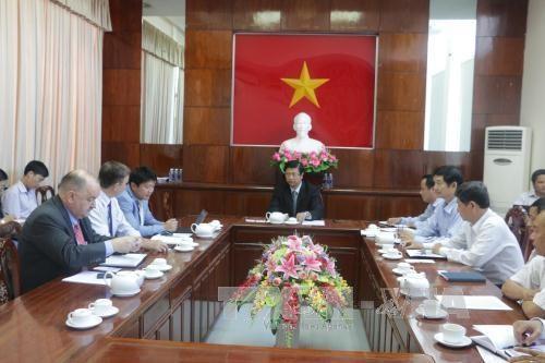Le groupe Thoresen veut investir dans les infrastructures portuaires et logistique de Can Tho hinh anh 1