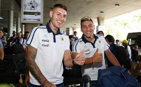 Le Onze argentin U20 est arrive au Vietnam hinh anh 1