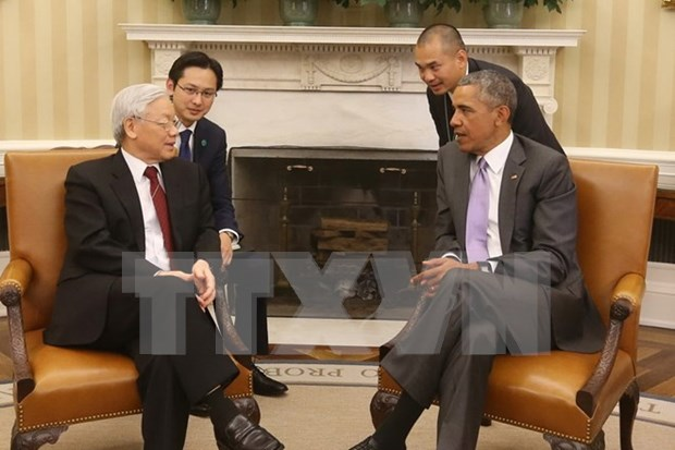 Le developpement fructueux du partenariat integral Vietnam-Etats-Unis au sein de l'APEC hinh anh 1