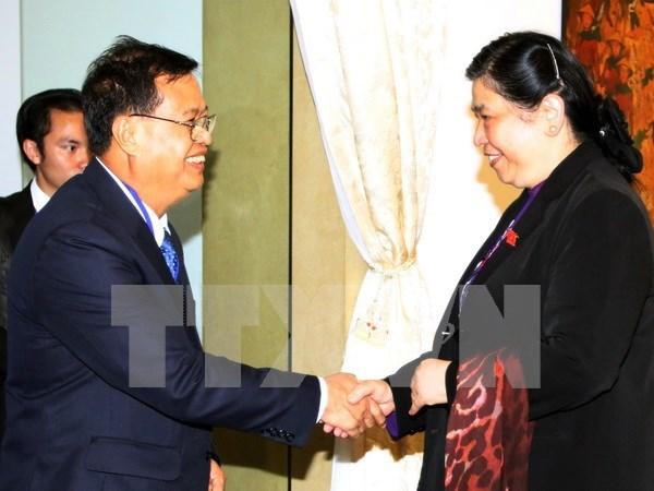 Vietnam-Laos : les assemblees nationales renforcent leurs relations hinh anh 1