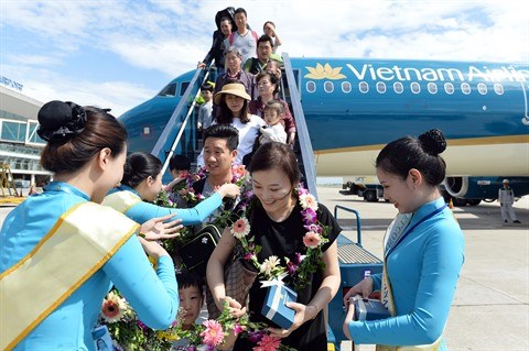 Vietnam Airlines accueille son 10.000e vol international a Da Nang hinh anh 2
